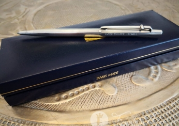 RARE Patek Philippe CARAN D'ache Silver Sterling 925 Ballpoint Pen Boligrafo