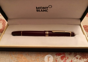 Montblanc Meisterstuck 146 Legrand Burgundy Bordeaux fountain pen
