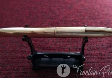 Sheaffer  12K G.F. Crown Vintage Fountain Pen 14K Gold Nib Pluma Estilografica