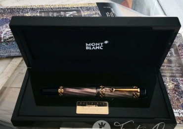 MONTBLANC PATRON OF THE ART KARL DER GROSSE HOMMAGE A CHARLEMAGNE 4810 FOUNTAIN PEN ESTILOGRAFICA