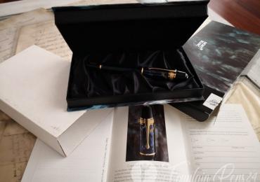 """Montblanc Writers Edition Edgar Allan Poe Fountain pen Estilografica """"NEW"""""""
