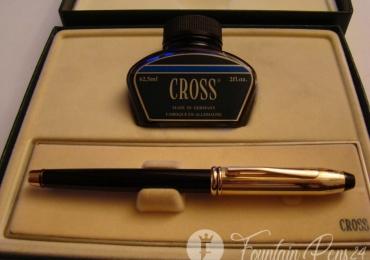 Cross SET Fountain Pen & Ink Bottle