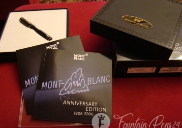 Montblanc Anniversary 100 Years edition 1906-2006 Fountain Pen