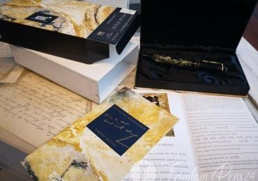 MONTBLANC Writers SPECIAL EDITION OSCAR WILDE  FOUNTAIN PEN ESTILOGRAFICA Nib M NEW
