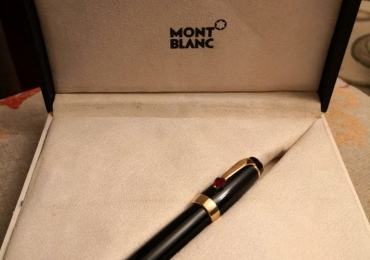 MONTBLANC BOHEME JE T'AIME FOUNTAIN PEN RED CORAZON HEART
