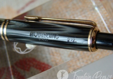 MONTBLANC PIX 272 Grey Striated Celluloid MECHANICAL PENCIL