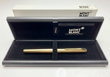 Montblanc Noblesse Gold No.1147 Fountain Pen (Very Rare Barleycorn Pattern)