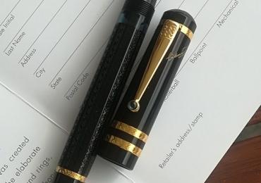 Montblanc Dostoevsky Fountain pen Limited edition Pluma Estilografica