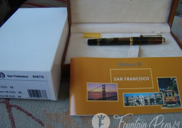 PELIKAN SPECIAL EDITION SAN FRANCISCO M620 FOUNTAIN PEN