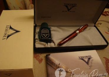 Visconti Special Edition Van Gogh Tortoise Fountain Pen