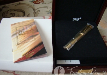 MONTBLANC PATRON OF ART LIMITED EDITION  888 HOMMAGE a J. PIERPONT MORGAN YEAR 2004 M