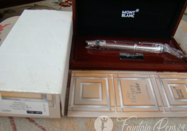 MONTBLANC Patron of Art SIR HENRY TATE LIMITED EDITION 4810 FOUNTAIN PEN