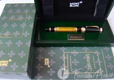Montblanc Patron of Art François I Limited Edition 4810 Fountain Pen