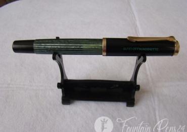 Pelikan Souverän 140 Green Stripe GUTEHOFGNUNGSHÜTTE Fountain Pen