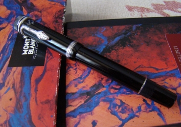 MONTBLANC  Writers Limited  Edition Agatha Christie Fountain Pen