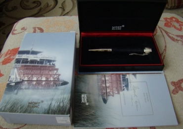 MONTBLANC MARK TWAIN WRITERS SERIES LIMITED EDITION Ballpoint Pen
