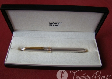 Montblanc Meisterstuck Solitaire 925 Silver Sterling FOUNTAIN PEN