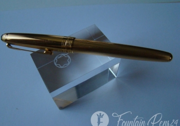 Montblanc Meisterstruck 146 Legrand Solitaire Gold fountain Pen