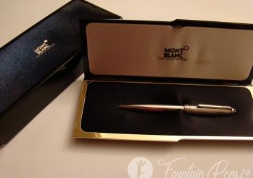 Montblanc Meisterstück Solitaire Stainless Steel Ballpoint Pen