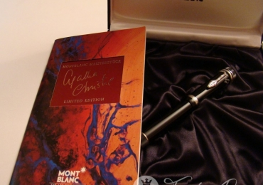 Montblanc Agatha Christie Limited Edition Fountain Pen