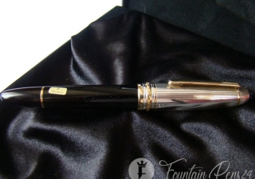 Montblanc Meisterstuck 146 solitaire doue Legrand 925 Silver Sterling Fountain Pen