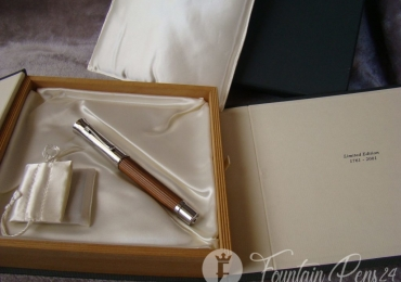 Graf von Faber-Castell Pen Limited Edition 1761-2001 Fountain Pen