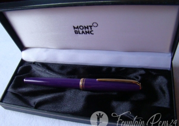 Montblanc Generation Purple Fountain Pen