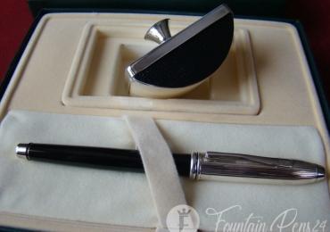 Cross SET Fountain Pen & Secante Tinta Silver Sperling