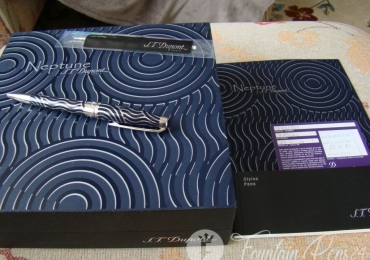 S.T. DUPONT NEPTUNE OLYMPIO LIMITED EDITION BALLPOINT PEN
