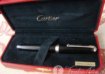LOUIS de CARTIER Black  Edition Limitée Fountain Pen