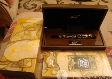 Montblanc Patron of Art Edition Hommage à Andrew Carnegie Fountain pen