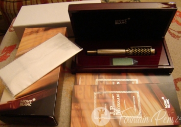 MONTBLANC Patron of the Art Edition Hommage a J. PIERPONT MORGAN Fountain Pen