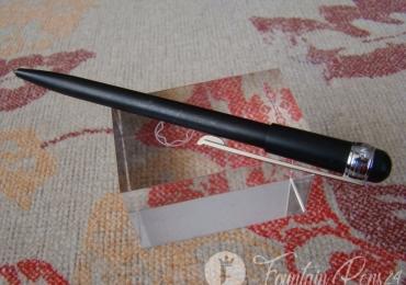 MONTBLANC SCENIUM MATTE BLACK PLATINUM BALLPOINT PEN