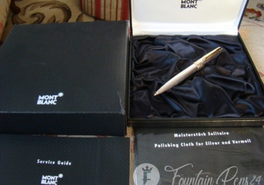 MONTBLANC MEISTERSTRUCK SOLITAIRE 925 SILVER STERLING MECHANICAL PENCIL 0,7 mm