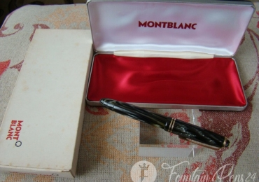 MONTBLANC 246 Grey Striated Celluloid FOUNTAIN PEN