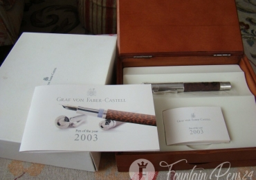 Graf Von Faber Castell Edition pen of the year 2003 Fountain Pen