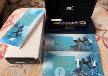 MONTBLANC PATRON OF ART PRINCE REGENT LIMITED EDITION 4810 FOUNTAIN PEN Estilográfica