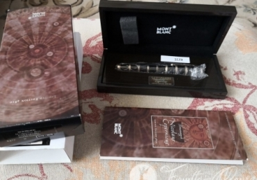 "Montblanc Patron of Art Hommage a Nicolaus Copernicus Nib M 4810 Limited Edition Fountain Pen Estilográfica ""NEW"""