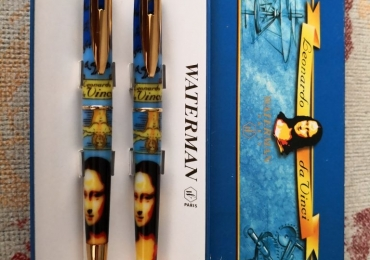 SET Waterman edition Leonardo da Vinci fountain pen & Ballpoint