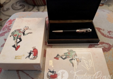 MONTBLANC WRITERS EDITION CARLO COLLODI FOUNTAIN PEN ESTILOGRAFICA Nib F  NEW