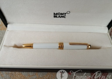 Montblanc Tribute to the Mont Blanc Mozart Midsize Small Size  red gold Rollerball Pen