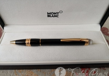 Montblanc Starwalker Red Rose Gold Resin Ballpoint Pen Boligrafo