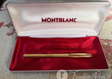 MONTBLANC NOBLESSE GOLD Nib 585 FOUNTAIN PEN