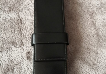 MONTBLANC PEN CASE LEATHER FOR 2 PENS
