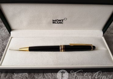 MONTBLANC MEISTERSTUCK CLASSIQUE BLACK & GOLD  BALLPOINT PEN