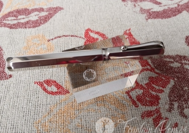 Montegrappa Reminiscence Octagon Solid 925 Sterling Silver Fountain Pen