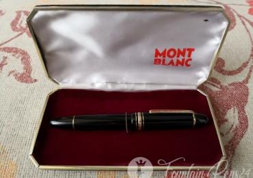 Montblanc Meisterstuck 149 Nib 18C 750 Tricolor Vintage Fountain Pen Estilográfica + Original Box