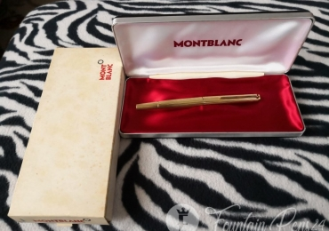 MONTBLANC 1246 Gold Fountain Pen Nib 750 18K