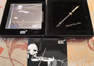 Montblanc Yehudi Menuhin Edition Nib F Fountain pen estilográfica