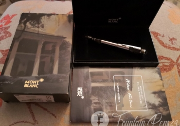 Montblanc Writers Limited Edition William Faulkner fountain pen Nib F Estilografica